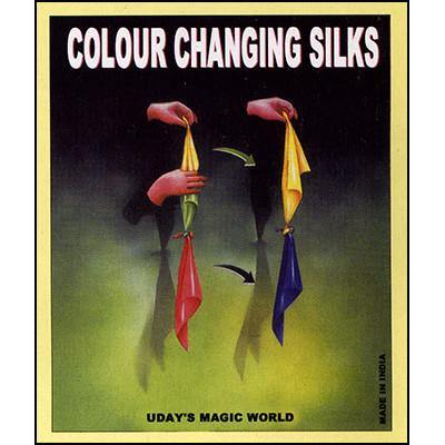 Color Changing Hanky, Magic, Magic Makers, tmyers.com - T. Myers Magic Inc.