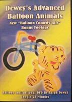 Dewey's Advanced Balloons DVD, DVD, Ralph Dewey, tmyers.com - T. Myers Magic Inc.