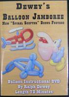 Dewey's Balloon Jamboree DVD, DVD, Ralph Dewey, tmyers.com - T. Myers Magic Inc.