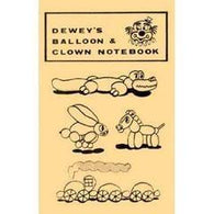 Dewey's Balloon & Clown Notebook