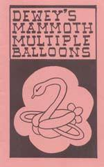 Dewey's Mammoth Multiple Balloons