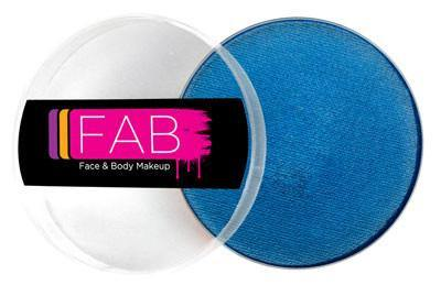 FAB Face & Body Makeup 45g-Sapphire Shimmer, Face Paint, Silly Farm, tmyers.com - T. Myers Magic Inc.