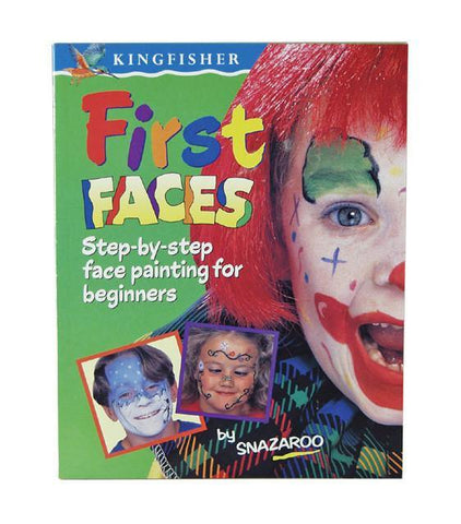 First Faces by Snazaroo, Book, Snazaroo, T. Myers Magic Inc. - T. Myers Magic Inc.