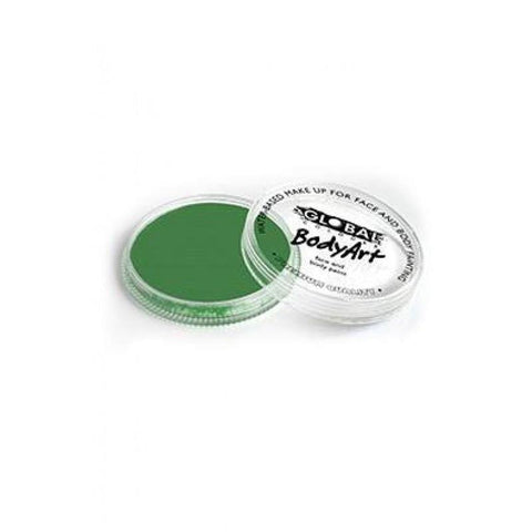 Global Colours Face Paint 32g-Green Deep, Face Paint, Global Colours, T. Myers Magic Inc. - T. Myers Magic Inc.