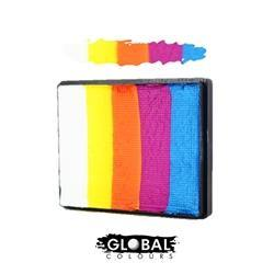 Global Colours Rainbow Cake Maui-50g, Makeup, Global Colours, tmyers.com - T. Myers Magic Inc.