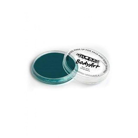 Global Colours Face Paint 32g-Teal, Face Paint, Global Colours, T. Myers Magic Inc. - T. Myers Magic Inc.