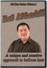 Hat Attack!!!  Volume 1 DVD, DVD, Ed Chee, T. Myers Magic Inc. - T. Myers Magic Inc.