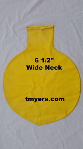 8 Foot Round Latex Balloons Yellow-1 Count, 8FTR, T. Myers Magic Inc., tmyers.com - T. Myers Magic Inc.