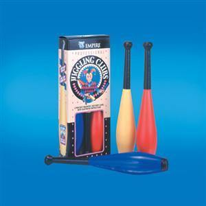 Juggling Clubs - 3 Piece, Accessories, D Robbins, tmyers.com - T. Myers Magic Inc.