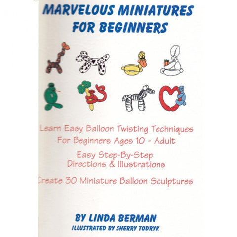 Marvelous Miniatures for Beginners by Linda Berman, Book, Linda Berman, tmyers.com - T. Myers Magic Inc.