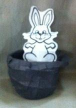 Top Hat and Rabbit Paper Tear