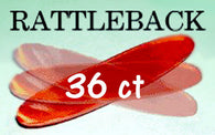 RATTLEBACK 36 ct, Side Sales/ give aways, Rhode Island, T. Myers Magic Inc. - T. Myers Magic Inc.