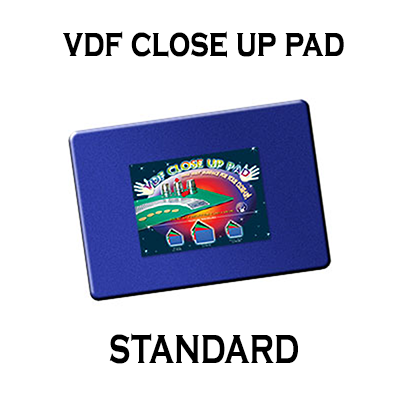 VDF Standard Close Up Pad-Blue, Magic, Murphy Magic, tmyers.com - T. Myers Magic Inc.