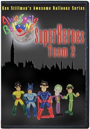 Super Heros Team #2 DVD Ken Stillman, DVD, Ken Stillman, tmyers.com - T. Myers Magic Inc.