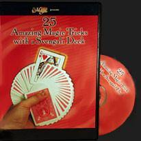 25 Amazing Magic Tricks with a Svengali Deck-DVD, DVD, card, Royal Magic, tmyers.com - T. Myers Magic Inc.