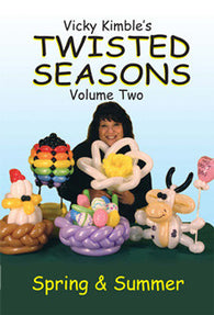 Twisted Seasons Vol 2 DVD Spring & Summer, DVD, Vicky Kimble, tmyers.com - T. Myers Magic Inc.
