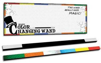 "Magic Color Changing Wand - Large 11"", Magic, D Robbins, tmyers.com - T. Myers Magic Inc."