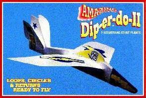Di-per-do Stunt Plane, Acc, Diper D0, tmyers.com - T. Myers Magic Inc.
