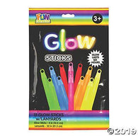 "Glow Stick 12Ct 4"" lanyards Assorted, Accessories, T. Myers, tmyers.com - T. Myers Magic Inc."