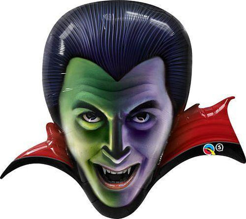 Dracula Qualatex Foil Balloon, , Qualatex, tmyers.com - T. Myers Magic Inc.
