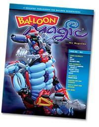 Balloon Magic Magazine #54 - Trick or Treat, Magazines, Qualatex, tmyers.com - T. Myers Magic Inc.