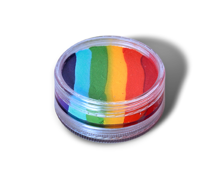 WB Essential Rainbow Cake 1.58 OZ, Wolfe Paint, WolfeFX, T. Myers Magic Inc. - T. Myers Magic Inc.