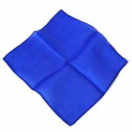 9 Inch Silk - Blue, Magic, D Robbins, tmyers.com - T. Myers Magic Inc.