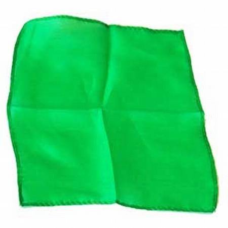 "12"" Inch Silk - Green, Magic, D Robbins, tmyers.com - T. Myers Magic Inc."