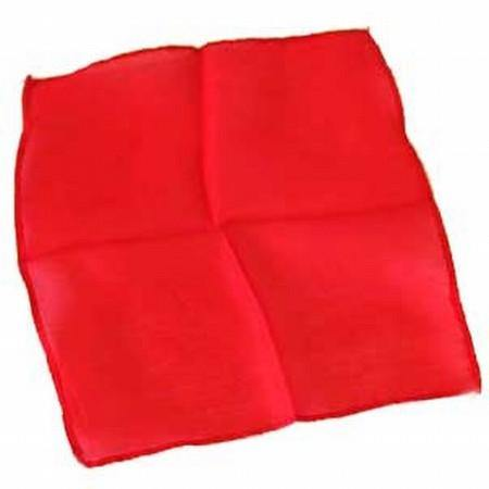 9 Inch Silk - Red, Magic, D Robbins, tmyers.com - T. Myers Magic Inc.