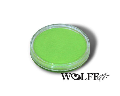 WB Hydrocolor Essentials Cake Mint  -30g, Wolfe Paint, WolfeFX, tmyers.com - T. Myers Magic Inc.