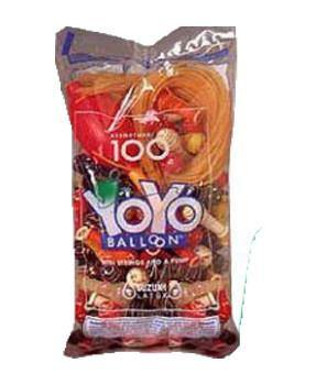 YoYo Balloons with Strings 100 Count