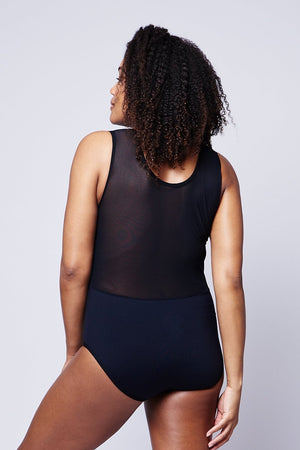 The Scoop Mesh Bodysuit