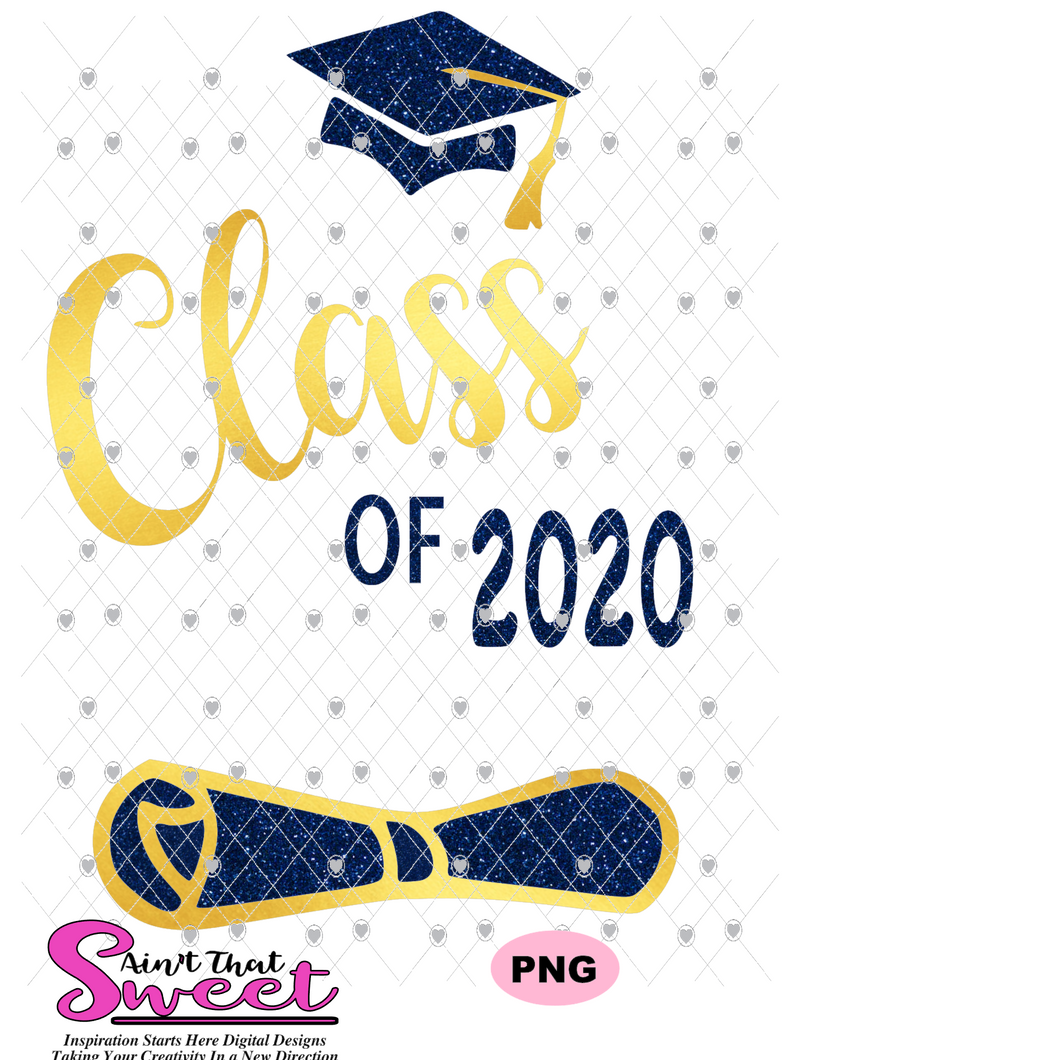 Class Of 2020 Graduation - Cap-Diploma - Transparent PNG, SVG