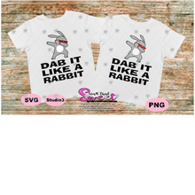 Dab It Like A Rabbit - Transparent PNG, SVG