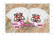 Fifty And Quarantined - Transparent PNG, SVG - Silhouette, Cricut, Scan N Cut