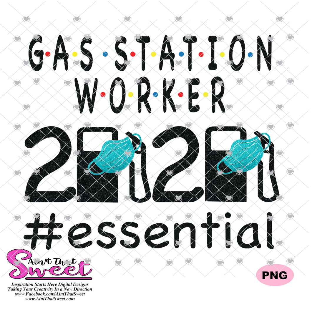 Gas Station Worker Essential Worker Mask 2020 - Transparent PNG, SVG