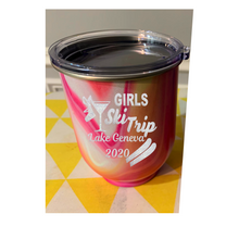 Girls Ski Trip Lake Geneva 2020 - Transparent PNG, SVG, Studio3 - Silhouette, Cricut, Scan N Cut