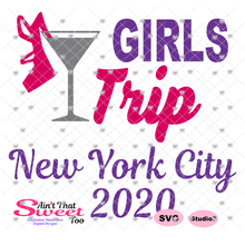 Girls Trip New York City 2020  - Transparent PNG, SVG