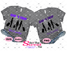 Girls Trip Time To Party - Transparent PNG, SVG