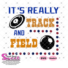 It's Really Track and Field - Transparent PNG, SVG