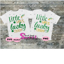 Little Miss Lucky Charm - Transparent PNG, SVG