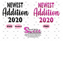 Big Sister Again, Big Sister Finally, Newest Addition 2020 - Transparent PNG, SVG  - Silhouette, Cricut, Scan N Cut