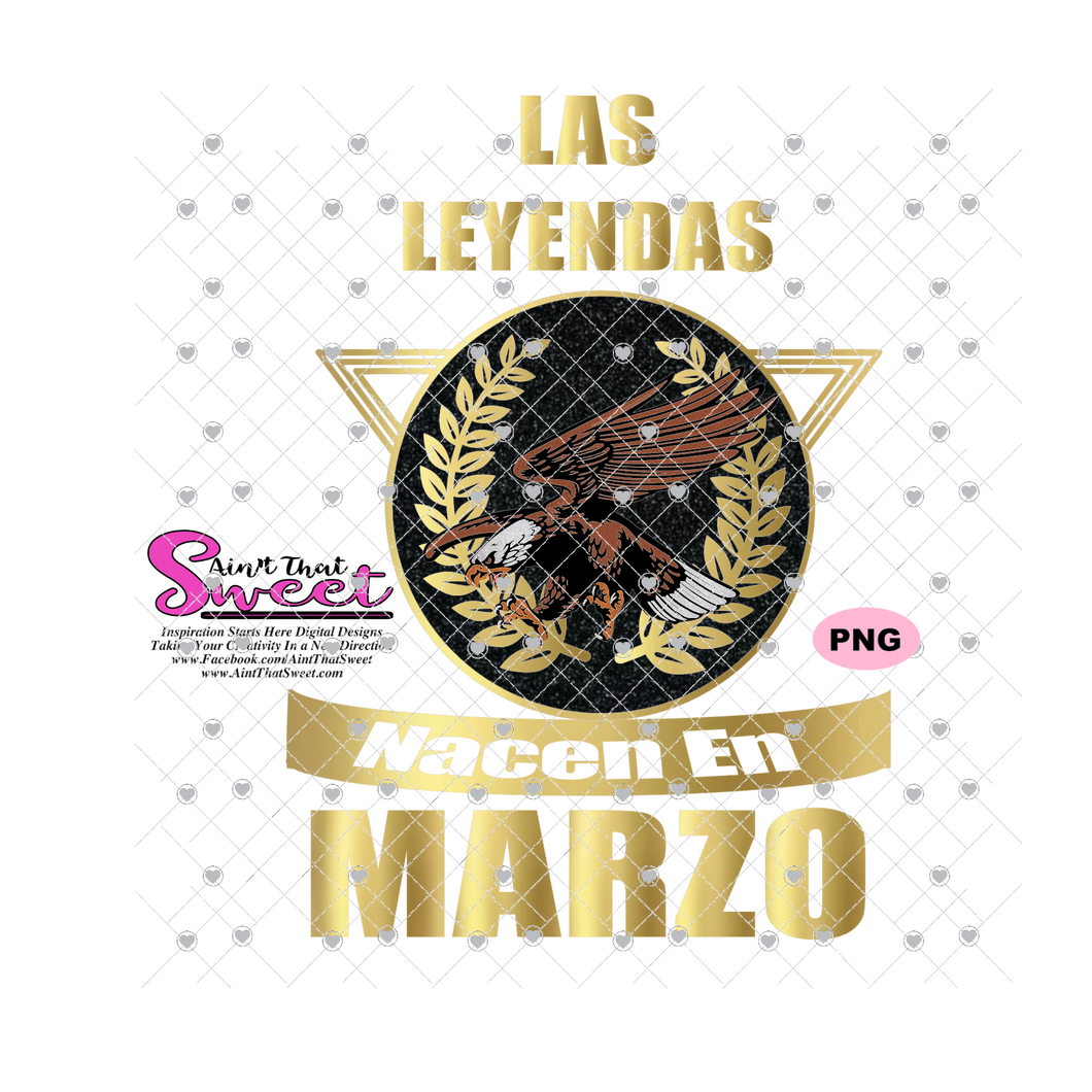 Sabes Mi Nombre-Marzo-Spanish with Eagle - Transparent PNG, SVG - Silhouette, Cricut, Scan N Cut