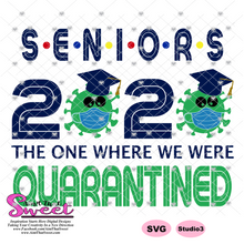 Seniors 2020 The Year We Were Quarantined - Transparent PNG, SVG