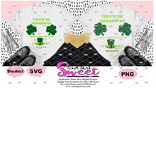 Touch Me Shamrocks, And I'll Choke Your Little Leprechaun - Transparent PNG, SVG - Silhouette, Cricut, Scan N Cut