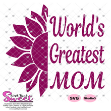 World's Greatest Mom - Transparent PNG, SVG - Silhouette, Cricut, Scan N Cut