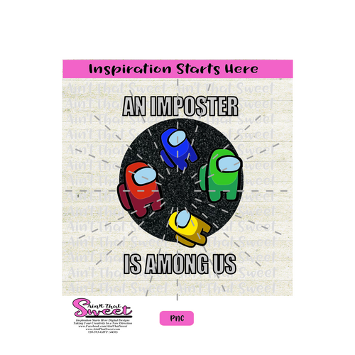 An Imposter Is Among Us - Transparent PNG, SVG - Silhouette, Cricut, Scan N Cut