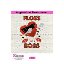 Floss Like A Boss - Hearts, Sunglasses - Transparent PNG, SVG - Silhouette, Cricut, Scan N Cut