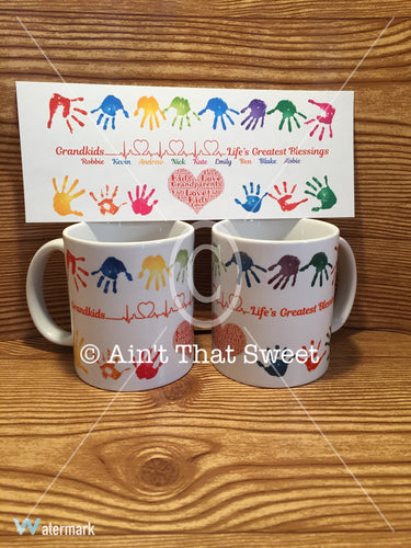 Personalize This! Mug - Grandkids...Life's Greatest Blessings