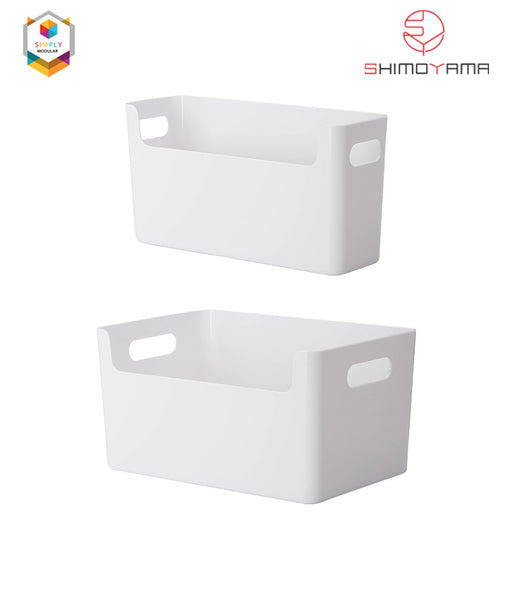 Shimoyama Plastic Storage Box with Handle (Large)